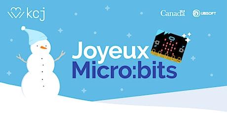 Enseignant·e·s: célébrer les fêtes et le code avec Joyeux Micro:bits billets