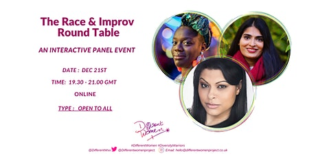 The Race & Improv Round Table tickets