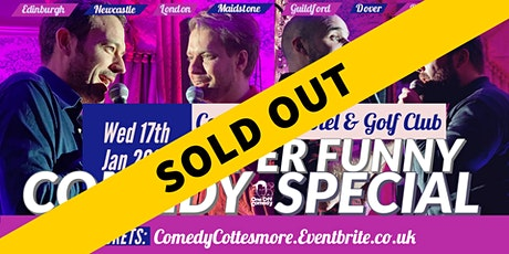 Comedy Special at Cottesmore Hotel & Golf Club - Crawley! tickets
