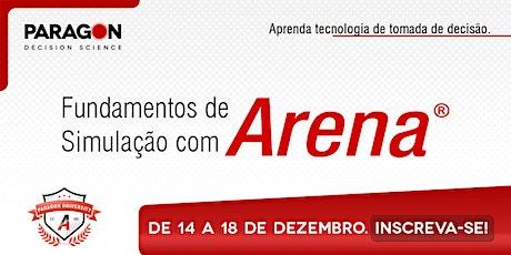Treinamento Online: Fundamentos de Simulação com Arena-14  a 18 de Dezembro ingressos