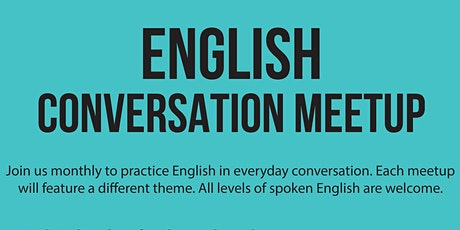 English Conversation Meetup tickets