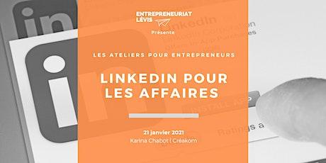 LinkedIn pour les affaires par Karina Chabot | Créakom billets
