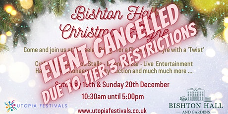 Bishton Hall Christmas Fayre tickets