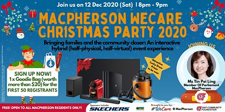 MacPherson WeCare Christmas Party 2020 tickets