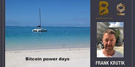 Bitcoin power days Tickets