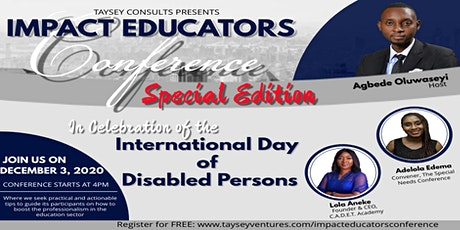 The Impact Educators Conference (Special Edition - IDDP 2020) tickets