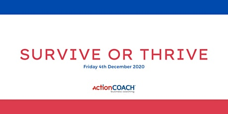 Survive or Thrive tickets