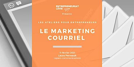 Le marketing courriel par Laura Perreault | Lapero communications tickets