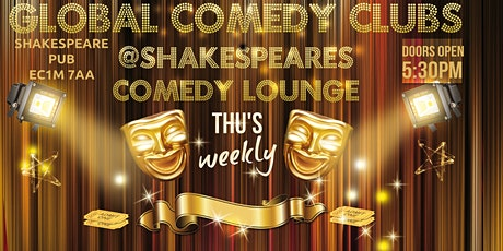 Global Comedy @Shakespeares pub tickets