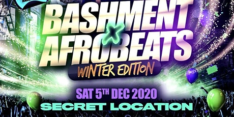 Bashment X Afrobeats - Winter Edition tickets