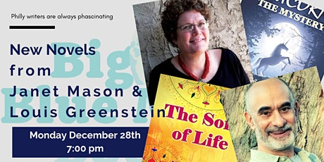New Novels from Janet Mason & Louis Greenstein tickets