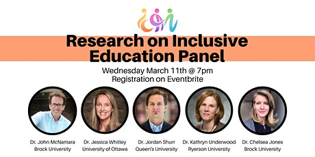 Research on Inclusive Education Panel entradas