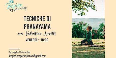 Tecniche di Pranayama - #InspireMyJourney biglietti