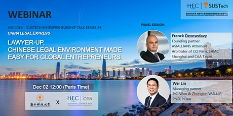 Lawyer-Up! China legal environment made easy for non-Chinese entrepreneurs billets