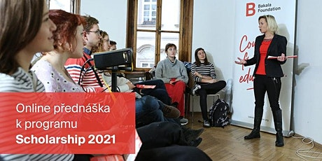Info přednáška k programu Scholarship 2021 – vol. III tickets