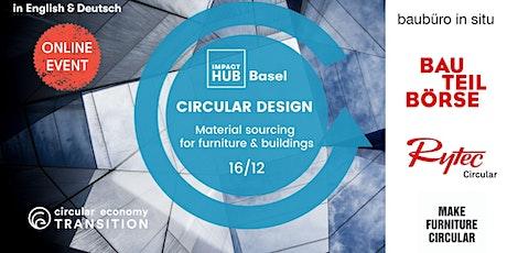 Circular materials: Furniture, Architecture & the Built Environment (EN DE) tickets