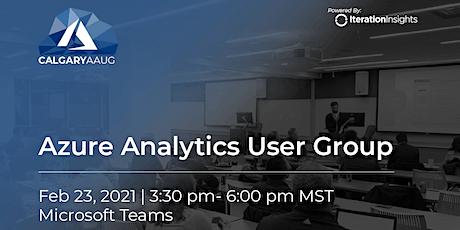Azure Analytics User Group Meeting | February Tickets