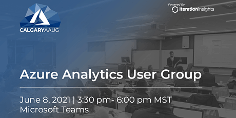 Azure Analytics User Group Meeting | June tickets
