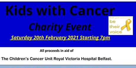 Kids With Cancer Charity Event 2021 tickets
