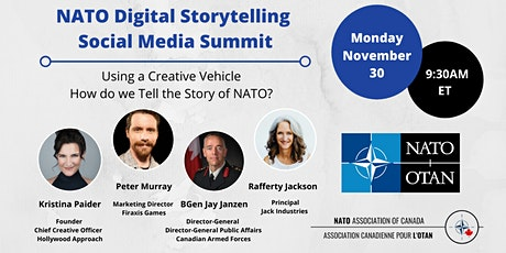NATO Digital Storytelling Social Media Summit tickets