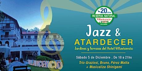 Tarde de Jazz  en las Terrazas y Jardines del Hotel Villavicencio entradas