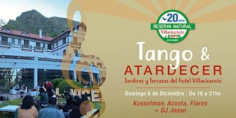 Tarde de Tango en las Terrazas y Jardines del Hotel Villavicencio entradas