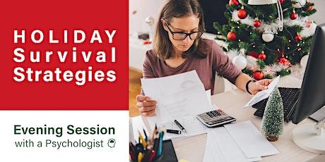 Holiday Survival Strategies tickets