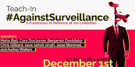 Teach-In Against Surveillance tickets