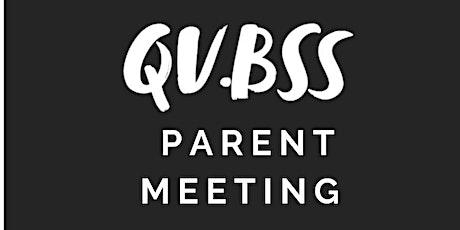 December Parent Meeting tickets