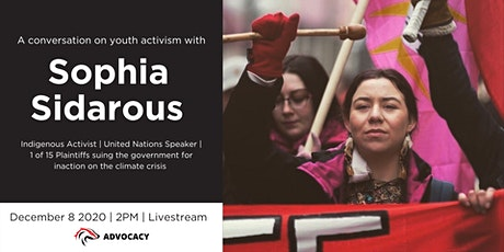 A conversation on youth activism with Sophia Sidarous tickets