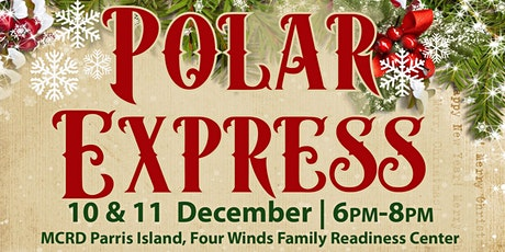 MCRD Parris Island Polar Express tickets