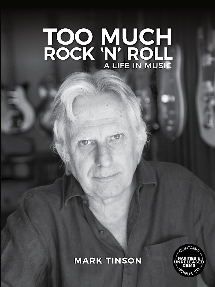 Too Much Rock 'n' Roll - A Life in Music - Mark Tinson image