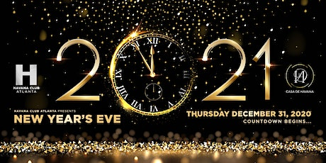 Havana New Years 2021 tickets