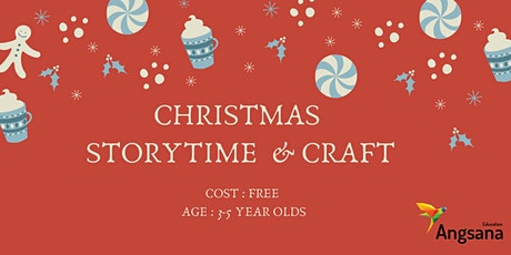 Christmas Story Time and Craft tickets