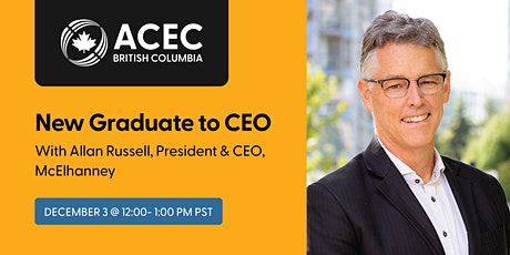 From New Graduate to CEO – Allan Russell's Career Journey tickets