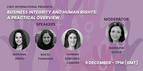Business Integrity and Human Rights: A Practical Overview tickets