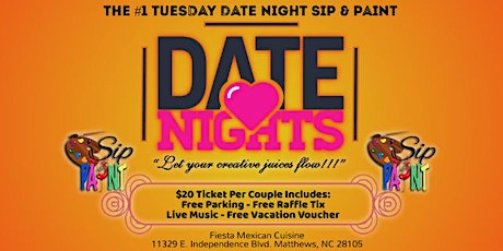Date Night: Sip & Paint tickets