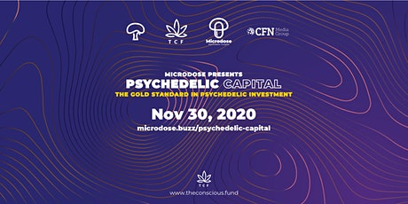 Psychedelic Capital November - The gold standard for psychedelic investment tickets