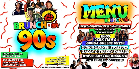 Brunch·ish: 90's Edition tickets