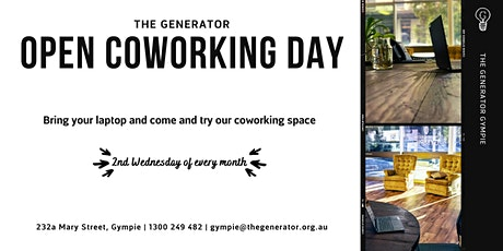 Open Coworking Day tickets