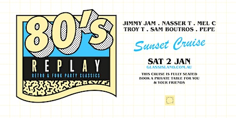 Glass Island pre. 80s REPLAY - Saturday 2nd January 2021 tickets