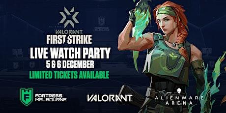 SAT First Strike VALORANT Semi-Final [Inc. Food & Drink] tickets