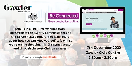Be Connected Webinar : Online Christmas Shopping tickets