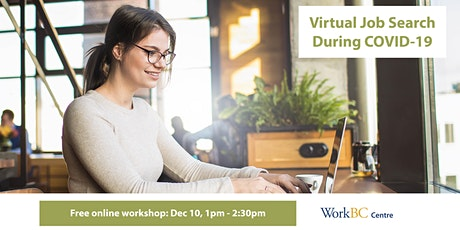 Virtual Job Search During COVID-19: A free online workshop tickets