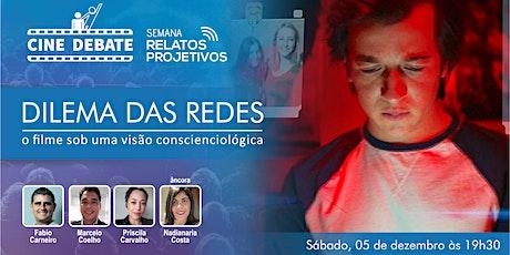 Live - O Dilema Das Redes: O Filme Sobre Uma Visão Conscienciológica ingressos