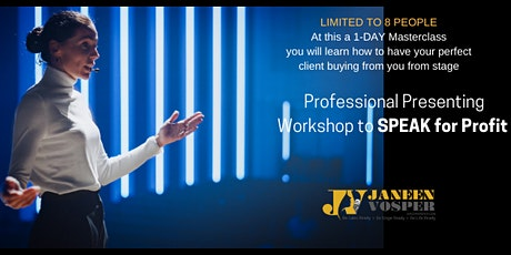 Learn the Secrets to Selling From Stage - 1-Day Masterclass tickets