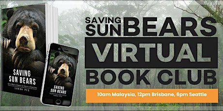 Saving Sun Bears Book Club tickets