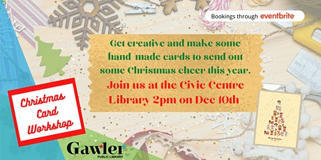 Christmas Card Making tickets