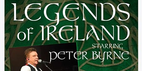 Celebrate St Paddy Week with Irish Music Tribute Songs by Peter Byrne tickets
