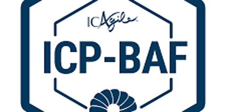 ICAgile Certified Professional in Business Agility Foundations (ICP-BAF) tickets